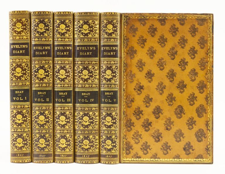 MEMOIRS OF JOHN EVELYN . . . COMPRISING HIS DIARY, FROM 1641-1705-6, AND A SELECTION OF HIS FAMILIAR LETTERS. JOHN EVELYN.