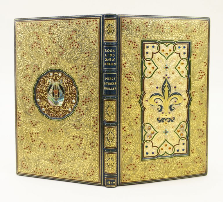 ROSALIND AND HELEN, A MODERN ECLOGUE; WITH OTHER POEMS. BINDINGS - JEWELLED BINDING, SHELLEY, SSHE.