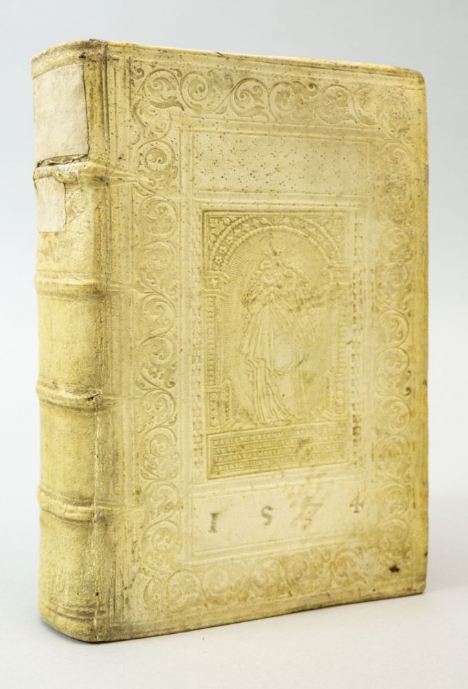 SUMMA DOCTRINAE CHRISTIANAE CATHOLICAE. BALTHASAR WERNHER BINDINGS - 16TH CENTURY, KONRAD KLING.