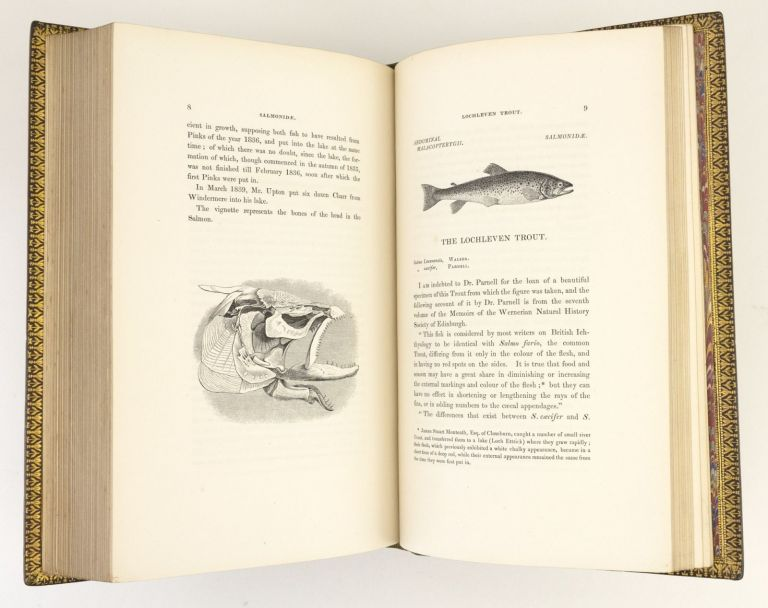 A HISTORY OF BRITISH FISHES [with SUPPLEMENT]. BINDINGS - MACKENZIE, SON.
