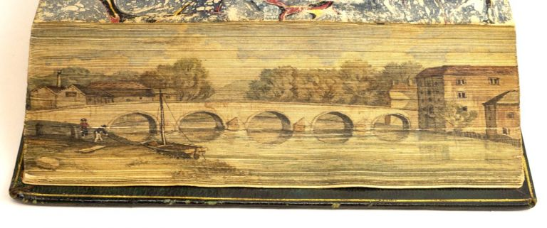 POEMS. FORE-EDGE PAINTINGS, WILLIAM COWPER.