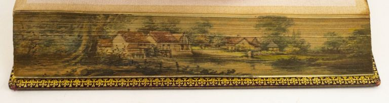 LETTERS WRITTEN IN HOLLAND. FORE-EDGE PAINTING, MISS C. B. CURRIE, THOMAS, Painter. BOWDLER.