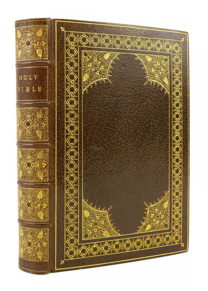 THE HOLY BIBLE CONTAINING THE OLD AND NEW TESTAMENTS. BINDINGS - STOAKLEY, BIBLE IN ENGLISH.