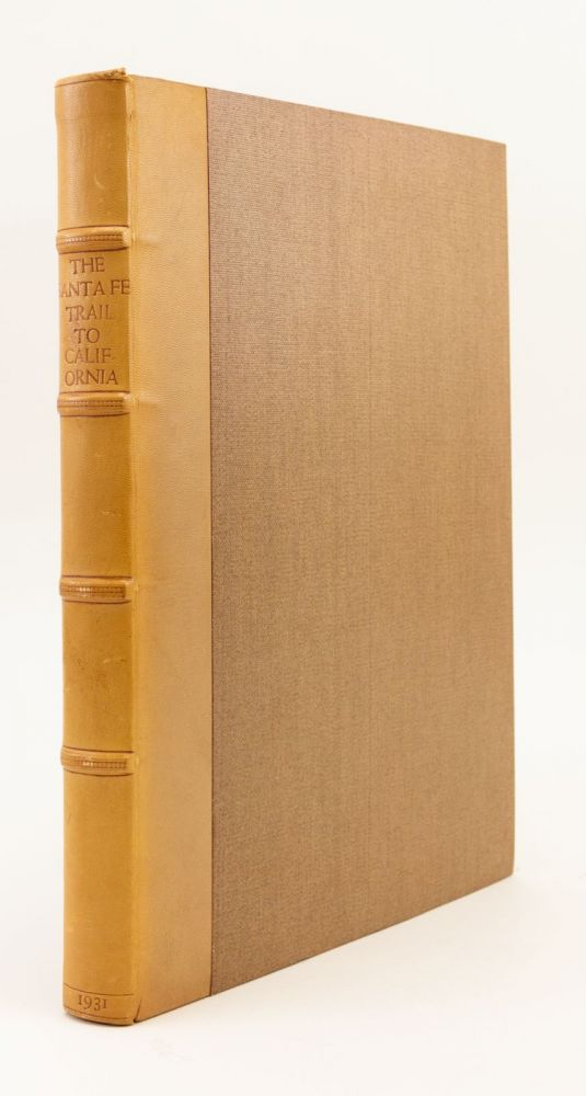 THE SANTA FÉ TRAIL TO CALIFORNIA 1849-1852. THE JOURNAL AND DRAWINGS OF H. M. T. POWELL. GRABHORN PRESS, H. M. T. POWELL.