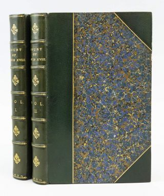 PRIVATE MEMOIRS OF THE COURT OF LOUIS XVIII. LOUIS XVIII, ÉTIENNE-LÉON...