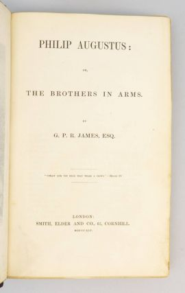 PHILIP AUGUSTUS: OR, THE BROTHERS IN ARMS.