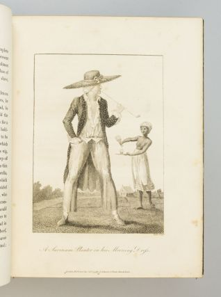 NARRATIVE, OF A FIVE YEARS' EXPEDITION, AGAINST THE REVOLTED NEGROES OF SURINAM, IN GUIANA, ON THE WILD COAST OF SOUTH AMERICA; FROM THE YEAR 1772, TO 1777 : ELUCIDATING THE HISTORY OF THAT COUNTRY, AND DESCRIBING ITS PRODUCTIONS, . . . WITH AN ACCOUNT OF THE INDIANS OF GUIANA, & NEGROES OF GUINEA. WILLIAM BLAKE, Illustrator, JOHN GABRIEL STEDMAN.