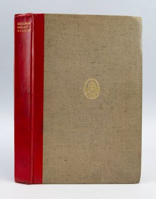 MALLEUS MALEFICARUM. WITCHCRAFT, HENRICUS KRAMER INSTITORIS, called