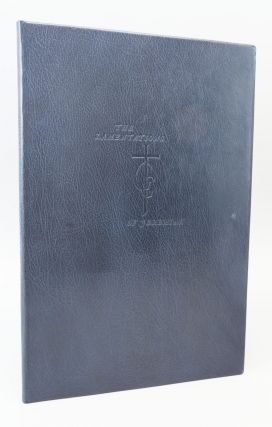 THE LAMENTATIONS OF JEREMIAH. GREGYNOG PRESS, BIBLE IN ENGLISH.