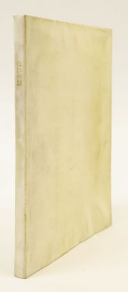 MAUD. VELLUM PRINTING, ALFRED LORD TENNYSON, ESSEX HOUSE PRESS