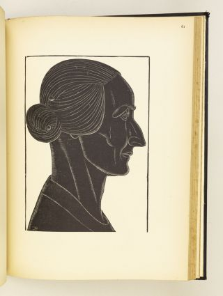 ENGRAVINGS BY ERIC GILL. A SELECTION OF ENGRAVINGS ON WOOD AND METAL . . . TO THE END OF THE YEAR 1927.