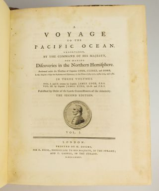 AN ACCOUNT OF THE VOYAGES UNDERTAKEN BY THE ORDER OF HIS PRESENT MAJESTY FOR MAKING DISCOVERIES IN THE SOUTHERN HEMISPHERE. [and] A VOYAGE TOWARDS THE SOUTH POLE, AND ROUND THE WORLD. [and] A VOYAGE TO THE PACIFIC OCEAN.