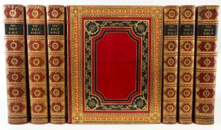 THE MACKLIN BIBLE). BINDINGS - GEORG FRIEDRICH KRAUSS, BIBLE IN ENGLISH