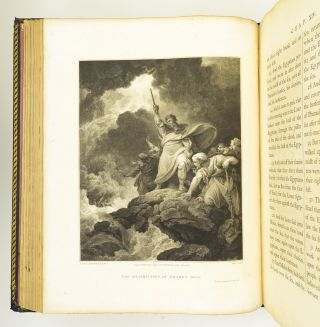 THE HOLY BIBLE. THE OLD TESTAMENT EMBELLISHED WITH ENGRAVINGS FROM PICTURES AND DESIGNS BY THE...