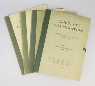SCHOOLS OF ILLUMINATION: REPRODUCTIONS FROM MANUSCRIPTS IN THE BRITISH MUSEUM. BRITISH MUSEUM...