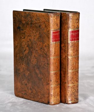 TRAVELS THROUGH SYRIA AND EGYPT, IN THE YEARS 1783, 1784, AND 1785. CONSTANTIN FRANÇOIS...