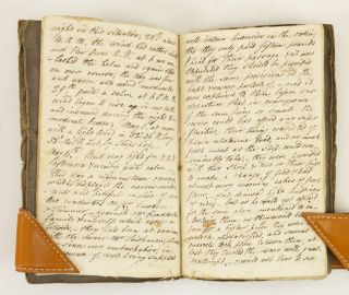 UNTITLED MANUSCRIPT A FIRST-PERSON UNPUBLISHED, THOMAS WRIGHT OF LINCOLNSHIRE DESCRIBING HIS SEA...