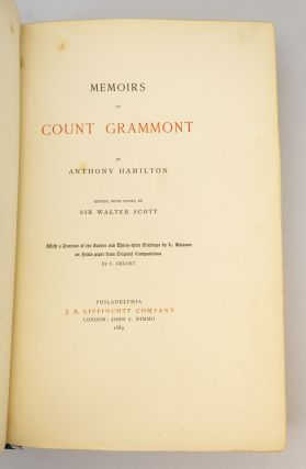 MEMOIRS OF COUNT GRAMMONT.