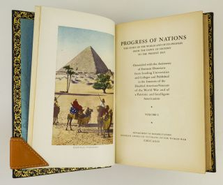 PROGRESS OF NATIONS. THE STORY OF THE WORLD AND OF ITS PEOPLES FROM THE DAWN OF HISTORY TO THE PRESENT DAY.