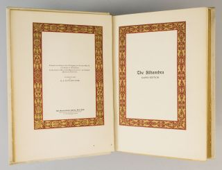 CHRONICLE OF THE CONQUEST OF GRANADA. [and] THE ALHAMBRA.