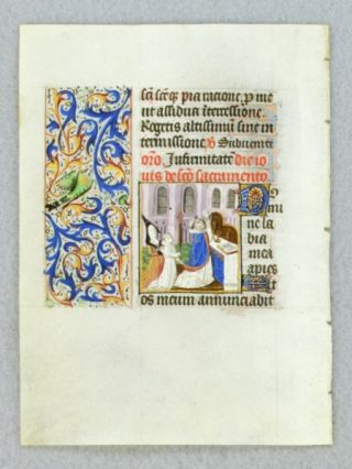 TEXT FROM THE THURSDAY HOURS OF THE HOLY SACRAMENT. FROM AN ENGAGING LITTLE BOOK OF HOURS IN...