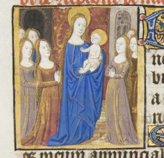 TEXT FROM THE SATURDAY HOURS OF THE CONCEPTION OF THE VIRGIN.