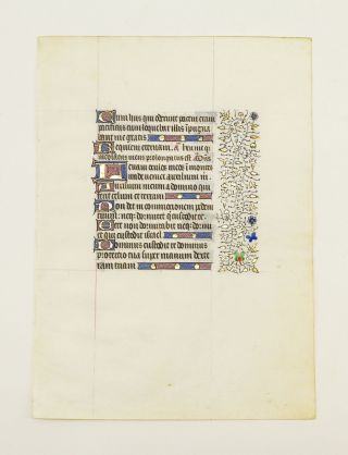 FROM A VERY FINE, VERY LARGE BOOK OF HOURS.