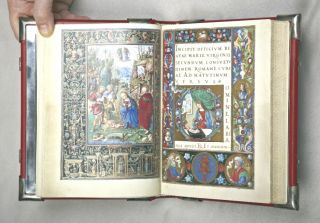 IL LIBRO D'ORE DI BONAPARTE GHISLIERI. [THE HOURS OF BONAPARTE GHISLIERI]. EARLY FACSIMILE...