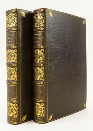 AN INTRODUCTION TO THE KNOWLEDGE OF RARE AND VALUABLE EDITIONS OF THE GREEK AND LATIN CLASSICS.