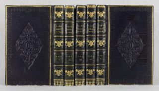 WORKS. BINDINGS - FINELY BOUND SETS, GEORGE GORDON NOËL BYRON, LORD