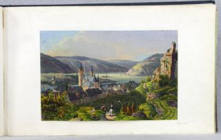 AN ALBUM OF 19TH CENTURY GERMAN SCENERY.