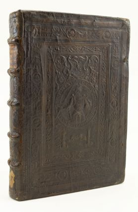 AMOROSA VISIONE. [bound with] BOCCACCIO, GIOVANNI, attributed to. URBANO. BINDINGS - CLAES VAN...