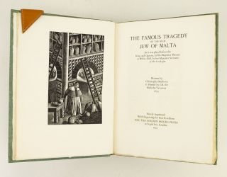 THE FAMOUS TRAGEDY OF THE RICH JEW OF MALTA. ERIC RAVILIOUS, CHRISTOPHER MARLOWE
