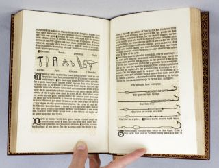 THE BOOK CONTAINING THE TREATISES OF HAWKING; HUNTING; COAT-ARMOUR; FISHING; AND BLASING OF ARMS. AS PRINTED AT WESTMINSTER BY WYNKYN DE WORDE . . . MCCCCLXXXXVI. [preceded by] HASLEWOOD, JOSEPH. LITERARY RESEARCHES INTO THE HISTORY OF THE BOOK OF SAINT ALBANS.