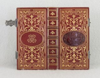 PAROISSIEN: ELZEVIR, RITE ROMAIN. BINDINGS - GRUEL, PRAYER BOOK IN FRENCH