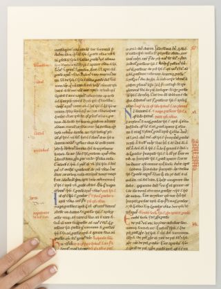 SENTENTIAE (BOOK I, PART OF DISTINCTIO XII).