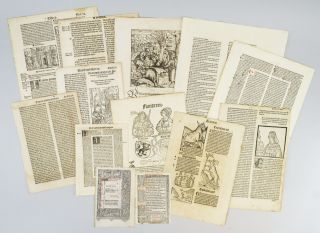 WITH NUMEROUS EXAMPLES OF WOODCUT ILLUSTRATIONS INDIVIDUAL PACKETS CONTAINING 15 LEAVES FROM THE...