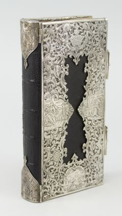 "DES HIMMLISCHEN SALOMONS ERQUICKLICHES LIEBES-MAHL; ODER: HEILIGE VORBEREITUNG ZUM TISCHE DES HERRN. [""HOLY PREPARATION FOR THE LORD'S TABLE""]. BINDINGS - SILVER, CONRAD DANIEL KLEINKNECHT."
