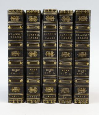 CLASSIC TALES. BINDINGS - FINELY BOUND SETS, HUNT, LEIGH