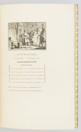 PYGMALION: SCENE LYRIQUE DE MR. J. J. ROUSSEAU. [bound with] IDYLLE.