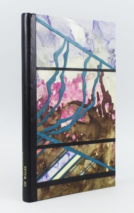 THE MOUNTAINS OF WALES: AN ANTHOLOGY IN VERSE & PROSE. BINDINGS - JAMES BROCKMAN, IOAN BOWEN REES