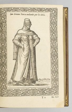 LE NAVIGATIONI ET VIAGGI NELLA TURCHIA. COSTUMES, NICOLAS DE NICOLAY, BINDINGS - 19TH CENTURY