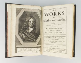 THE WORKS OF MR ABRAHAM COWLEY [bound with] THE SECOND AND THIRD PARTS OF THE WORKS OF MR ABRAHAM COWLEY.