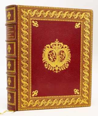 LA DAUPHINE MARIE-ANTIONETTE. BINDINGS - DURVAND, PIERRE DE NOLHAC