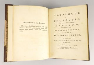 A CATALOGUE OF ENGRAVERS, WHO HAVE BEEN BORN, OR RESIDE IN ENGLAND.