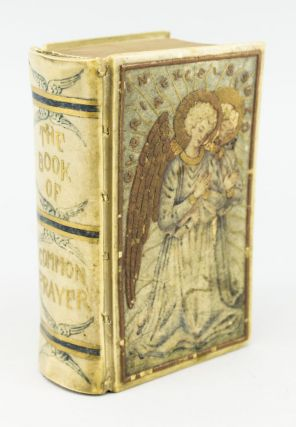 THE BOOK OF COMMON PRAYER [bound with] HYMNS. ANCIENT AND MODERN. BINDINGS - ROYAL SCHOOL OF ART NEEDLEWORK.