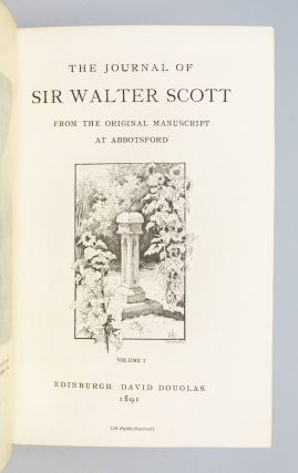 THE JOURNAL OF SIR W. SCOTT.