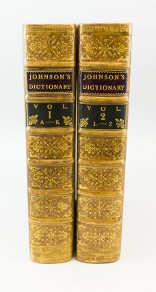 A DICTIONARY OF THE ENGLISH LANGUAGE. SAMUEL JOHNSON