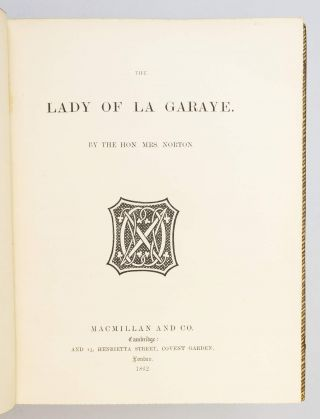 THE LADY OF GARAYE.