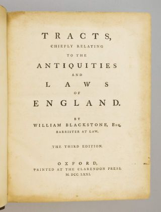 TRACTS CHIEFLY RELATING TO THE ANTIQUITIES AND LAWS OF ENGLAND.